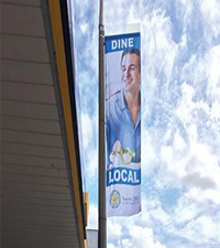 Penrith CBD City Flags